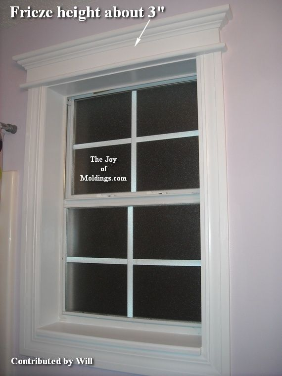 window trim idea - Exterior Window Moulding Designs
