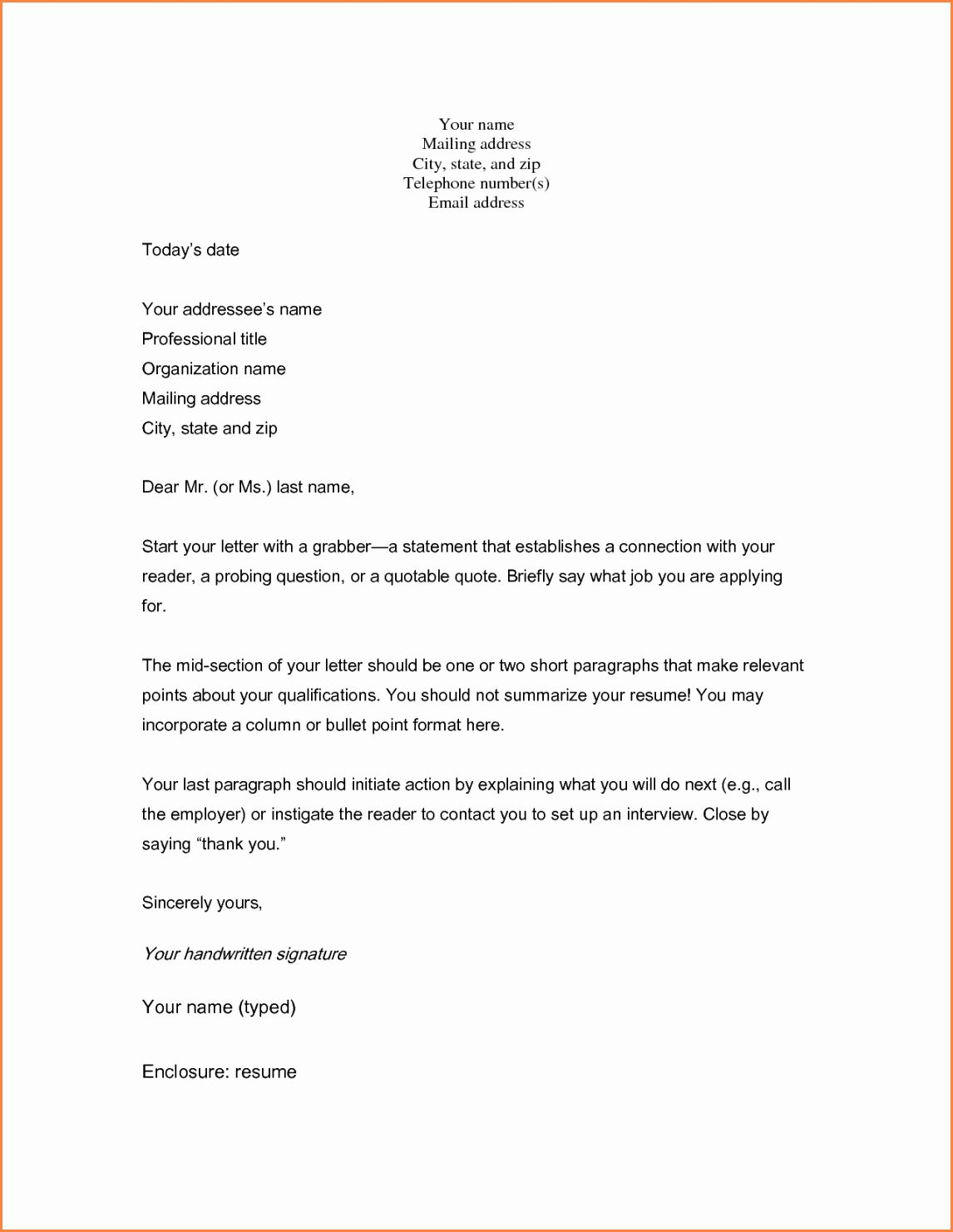 23 Short Cover Letter Examples Cover Letter For Resume Job