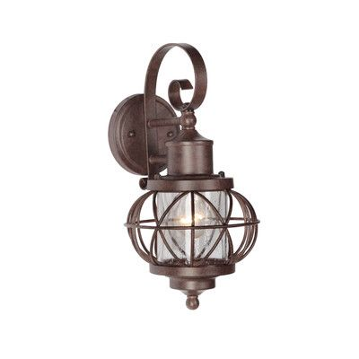 Craftmade Revere 1 Light Wall Lantern & Reviews | Wayfair