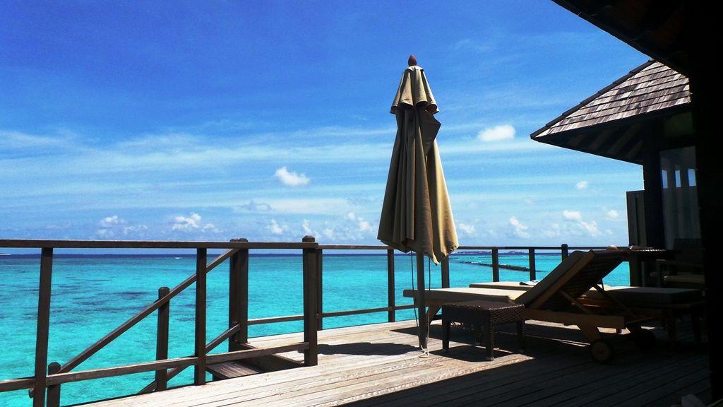 Hilton Irufushi in South Maldives - our water villa