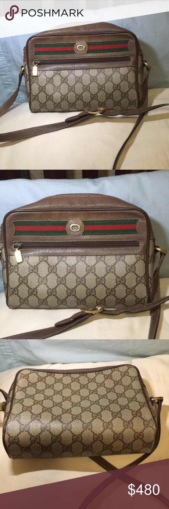 83dbc35bb518 Vintage GUCCI sling bag (AKA Ophidia line now) Timeless elegance at a  fraction of