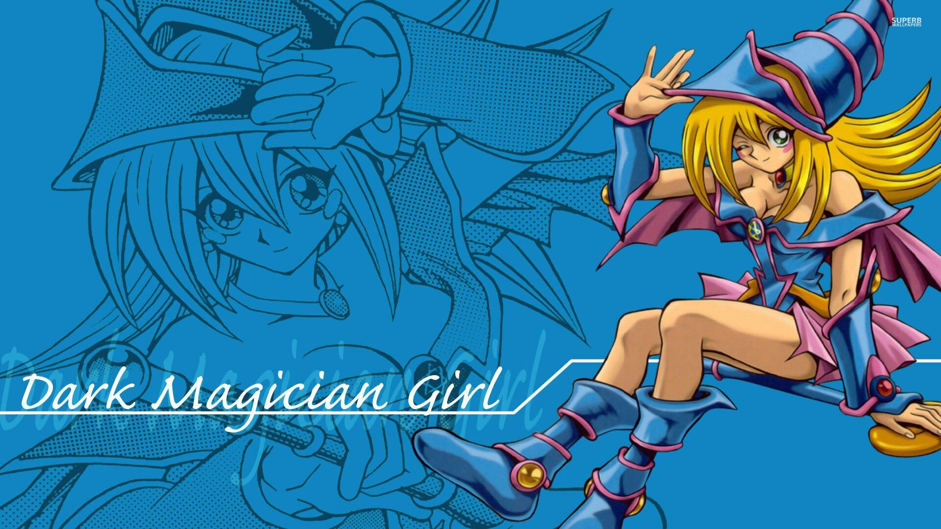 Dark Magician Girl Yu Gi Oh Wallpaper Anime Anime Hd Anime
