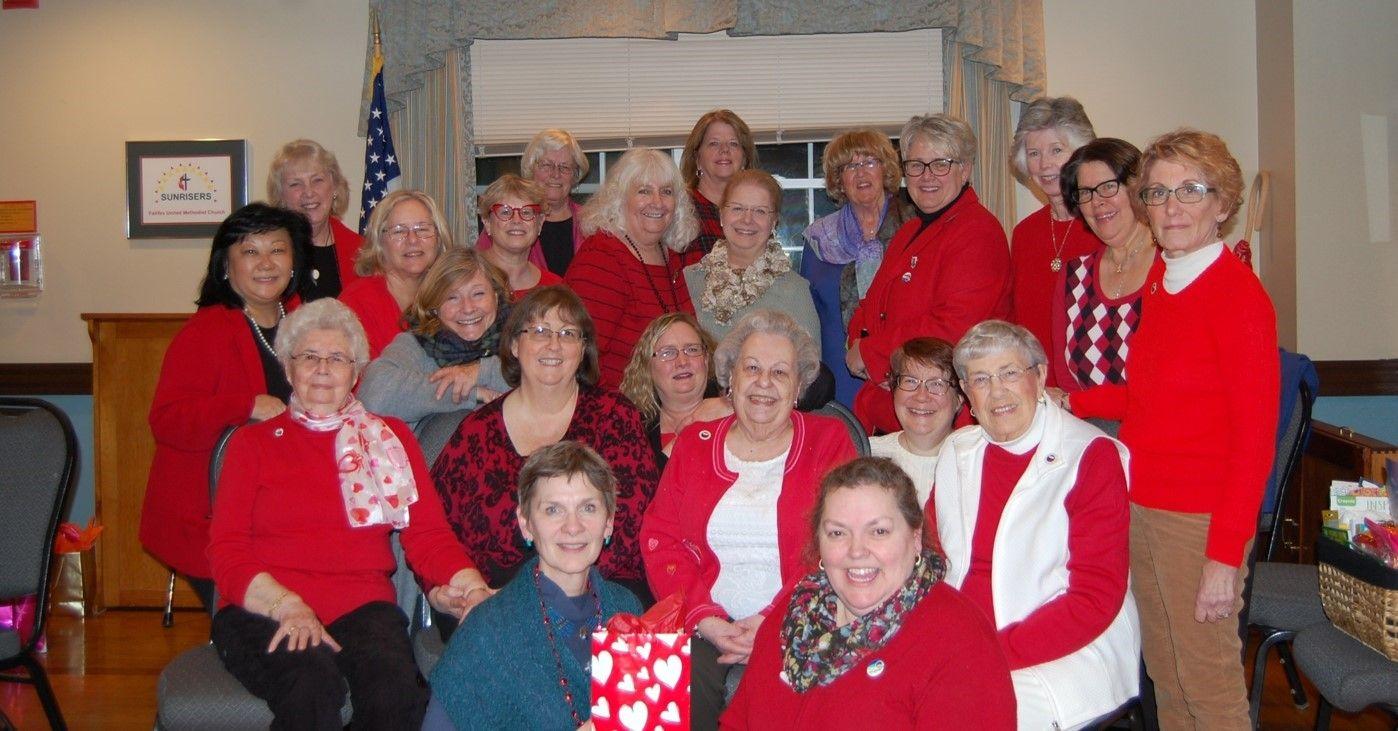 Gfwc womans club of fairfax virginia women go red