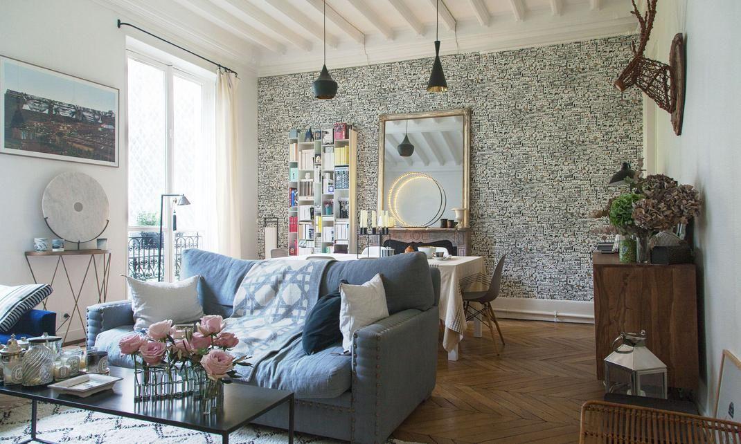 camille co rencontre avec une passionn e de d co the living room le salon pinterest. Black Bedroom Furniture Sets. Home Design Ideas
