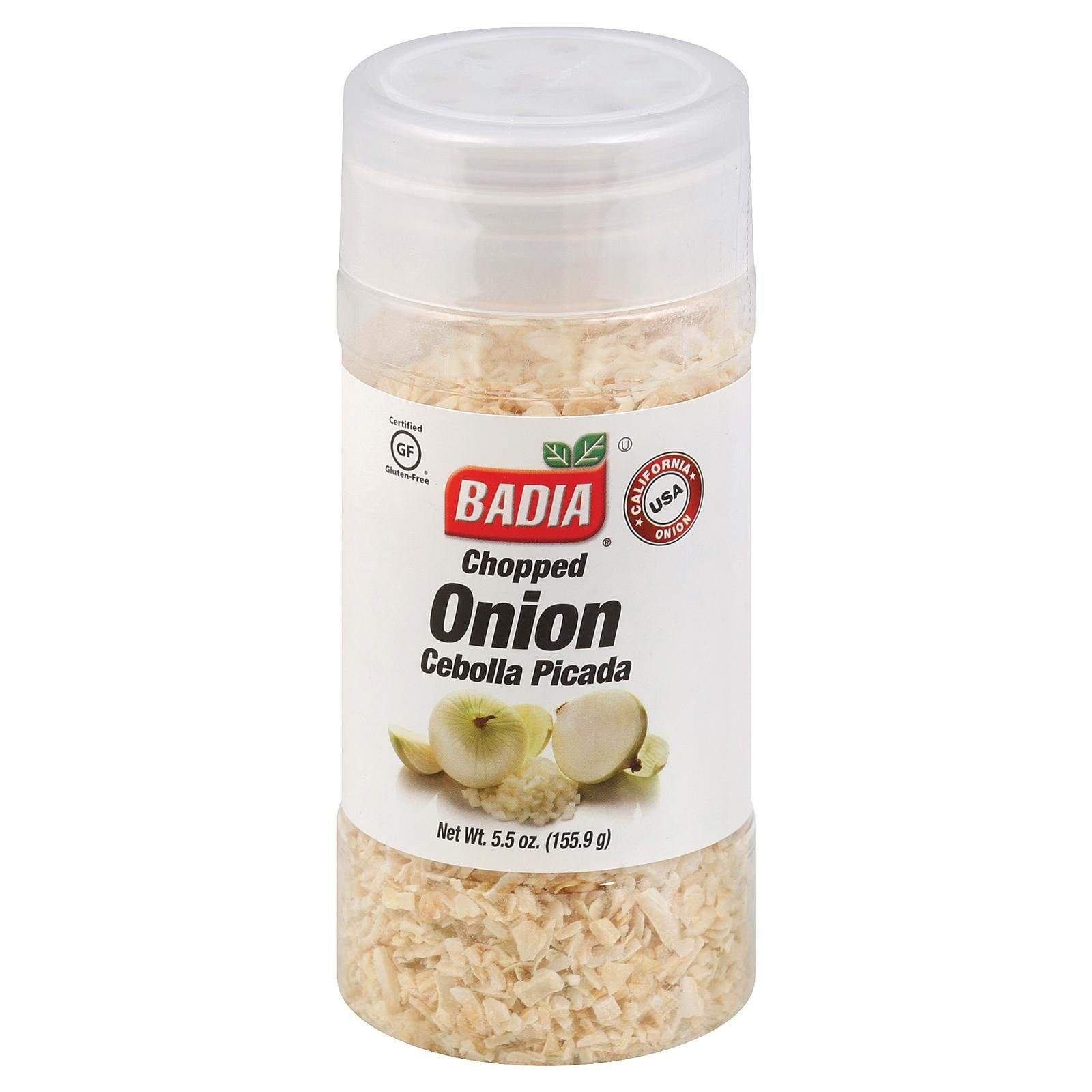 Badia Spices Chopped Onion - Case Of 12 - 5.5 Oz.  #organic #love #inspiredbeacon  #FoodBeverages #Salt #SpicesAndSeasonings