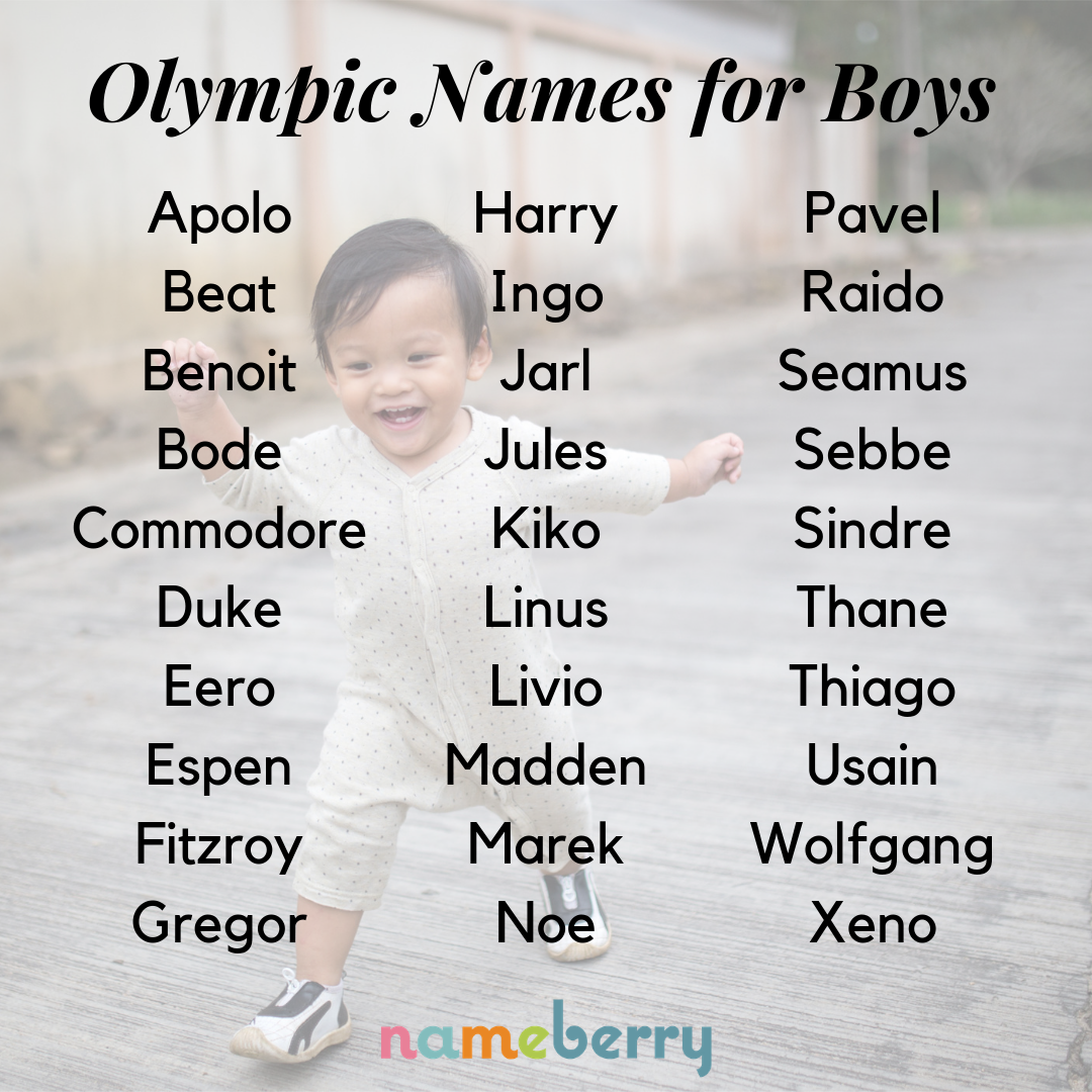 170 Olympic Baby Names