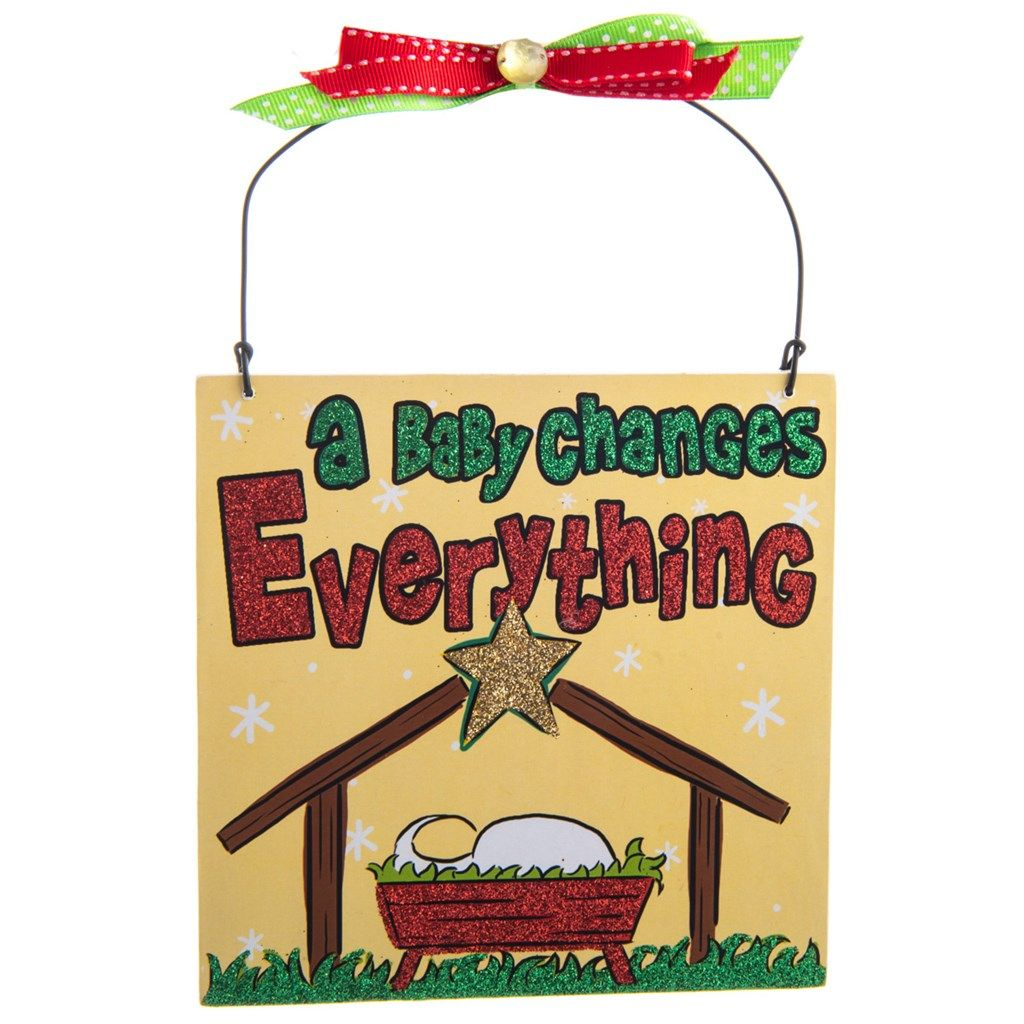 shopcrackerbarrelcom baby changes everything plaque ornament cracker barrel old country