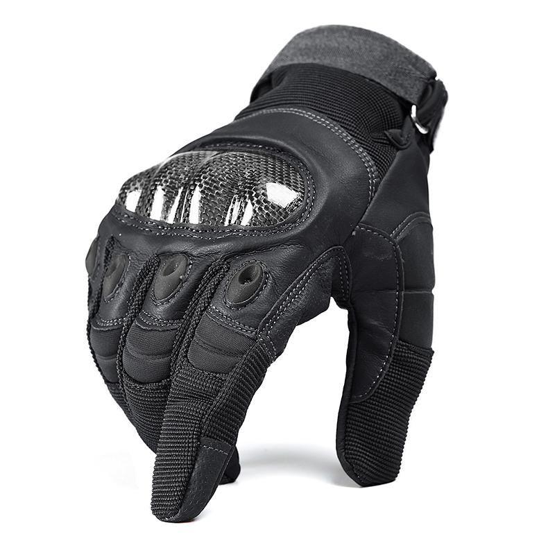 Tactical Gloves Unisex PU Leather Half Fingerl Guantes ORIGINALES Para Deportes