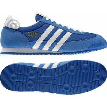 Adidas DRAGON Modro bílé | Homme