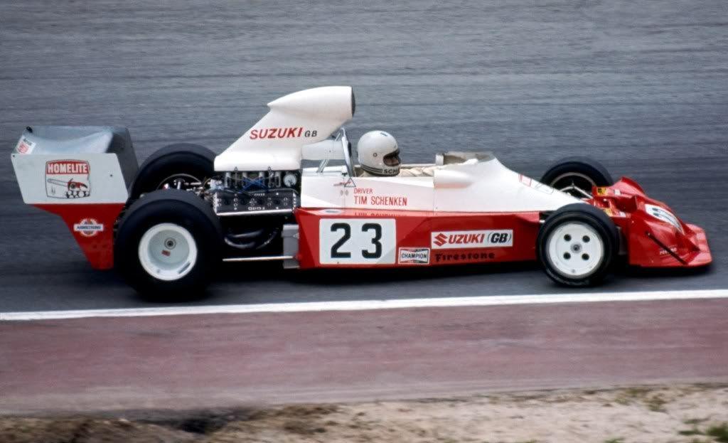 Tim Schenken, Zandvoort 1974, Trojan T103
