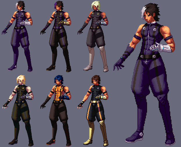Nameless Kof XIII By Shadowbrand Haze Story And