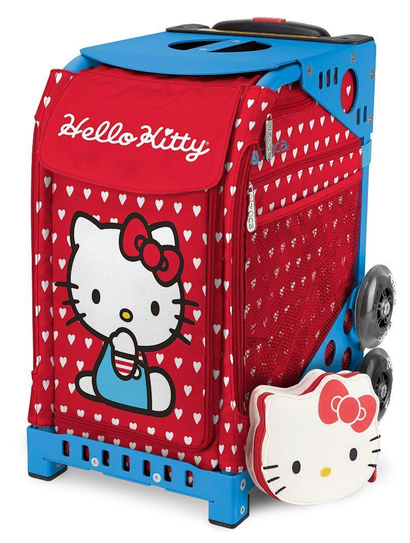 ZÜCA Sport Hello Kitty Labor of Love Rolling Bag Blue Frame   Hello ... dbcdbaf799