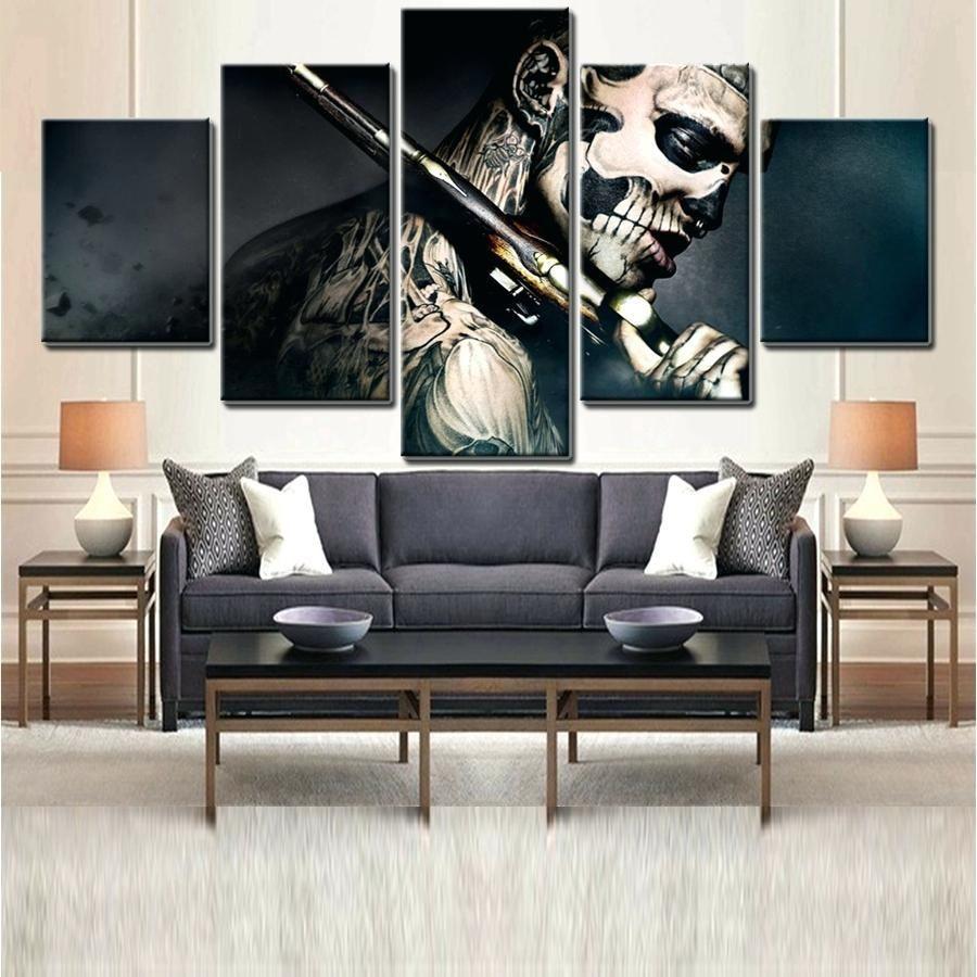 50 Bachelor Pad Wall Art Design Ideas For Men Cool Visual Decor Wall Art Designs Easy Canvas Painting Art