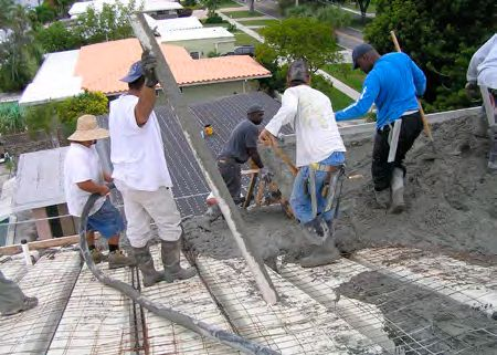 Builddeck Safe Room Roof Installation Concrete Block Walls Insulated Concrete Forms House With Porch
