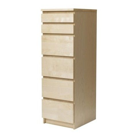 Ikea Malm Tall Dresser With Mirror