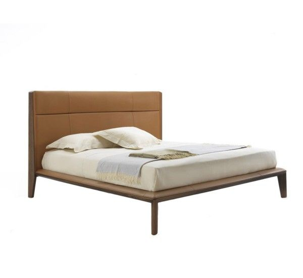 Designed By Buratti Team For Porada Nyan Is A Bed With Frame In