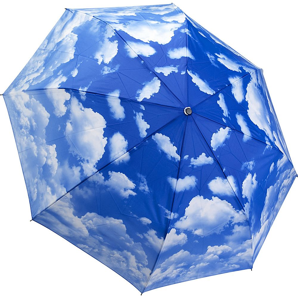 Galleria Clear Skies Folding Umbrella - eBags.com