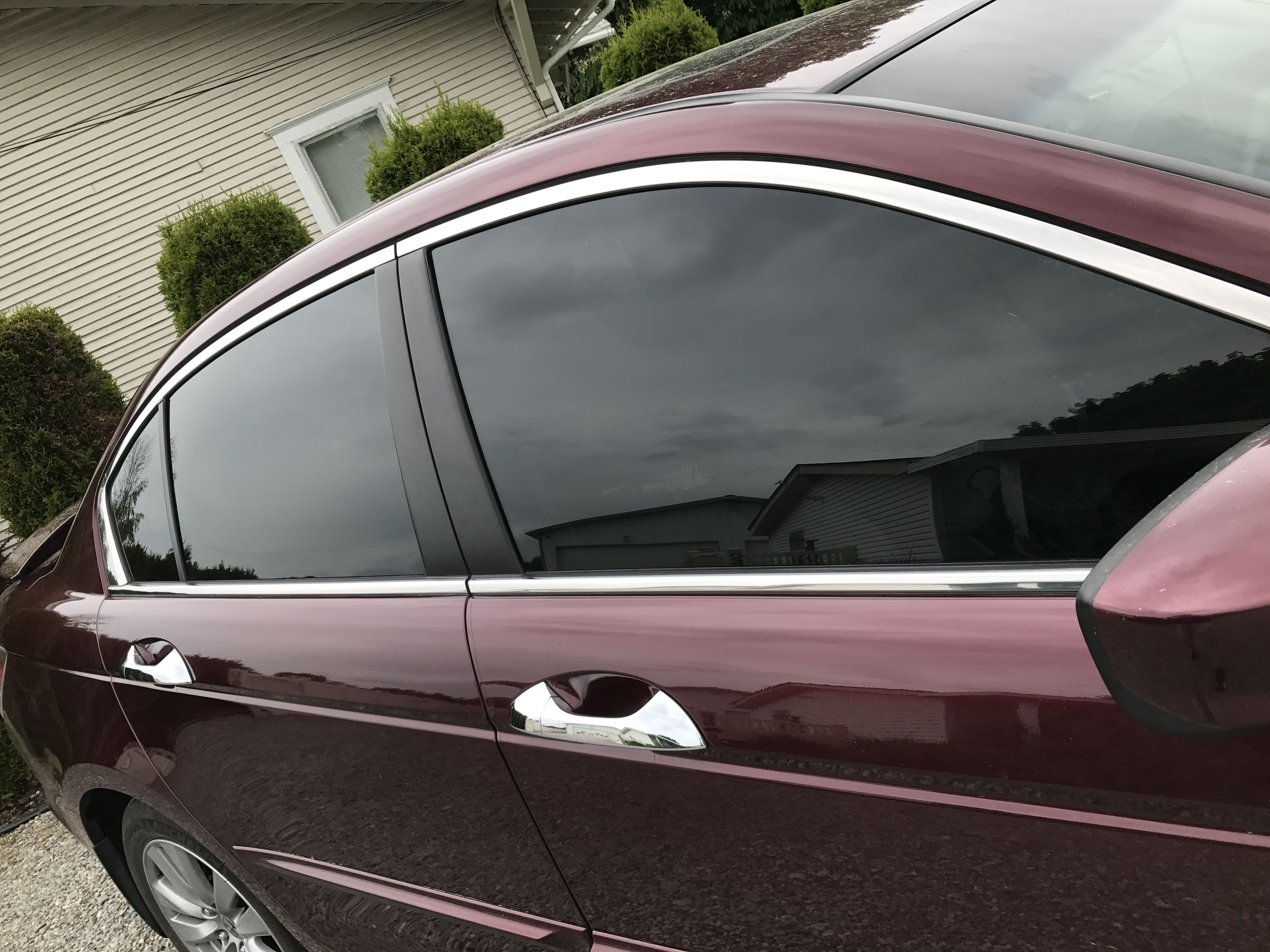 Look At This Before And After Pictures What A Difference The Windows Literally Change The Whole Appearance Of T Dream Car Garage Tinted Windows Dream Cars