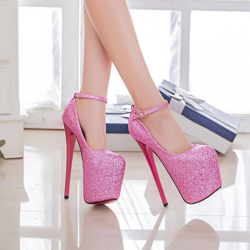 Ultra High 19CM Round Toe Shoe