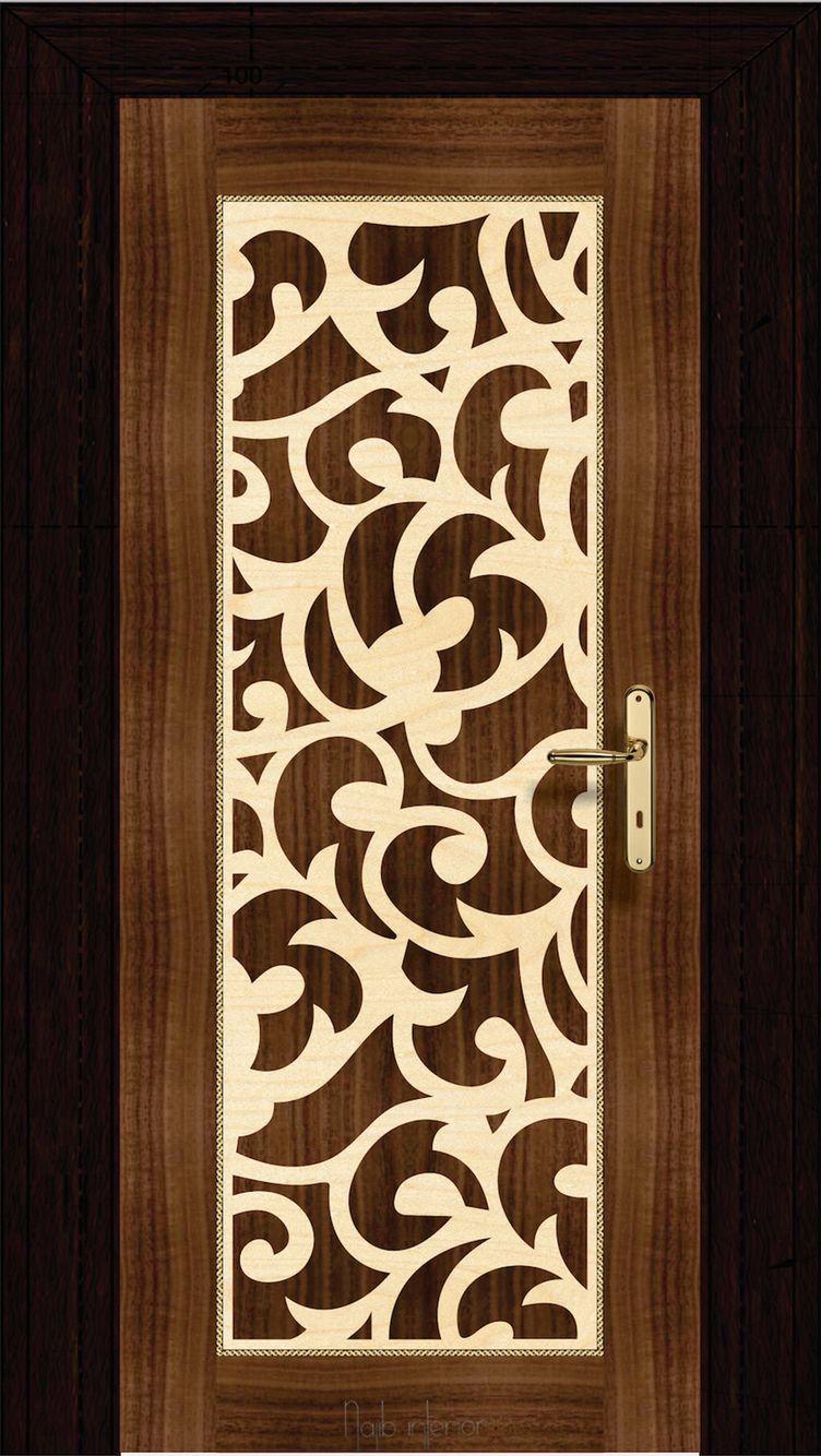 Flush Door Jali Design on