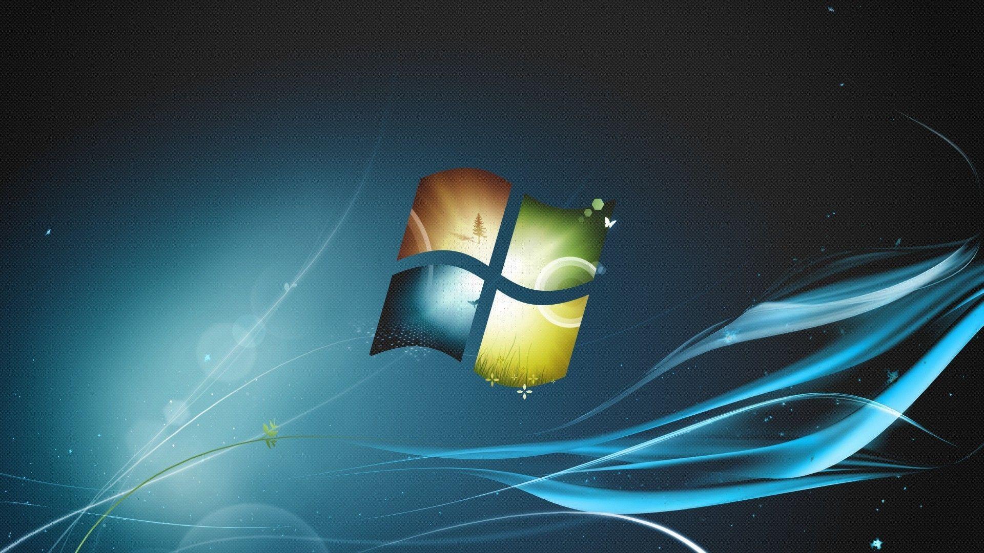 Logo Microsoft Windows Windows 7 Wallpaper Windows Wallpaper Lenovo Wallpapers Windows Desktop Wallpaper