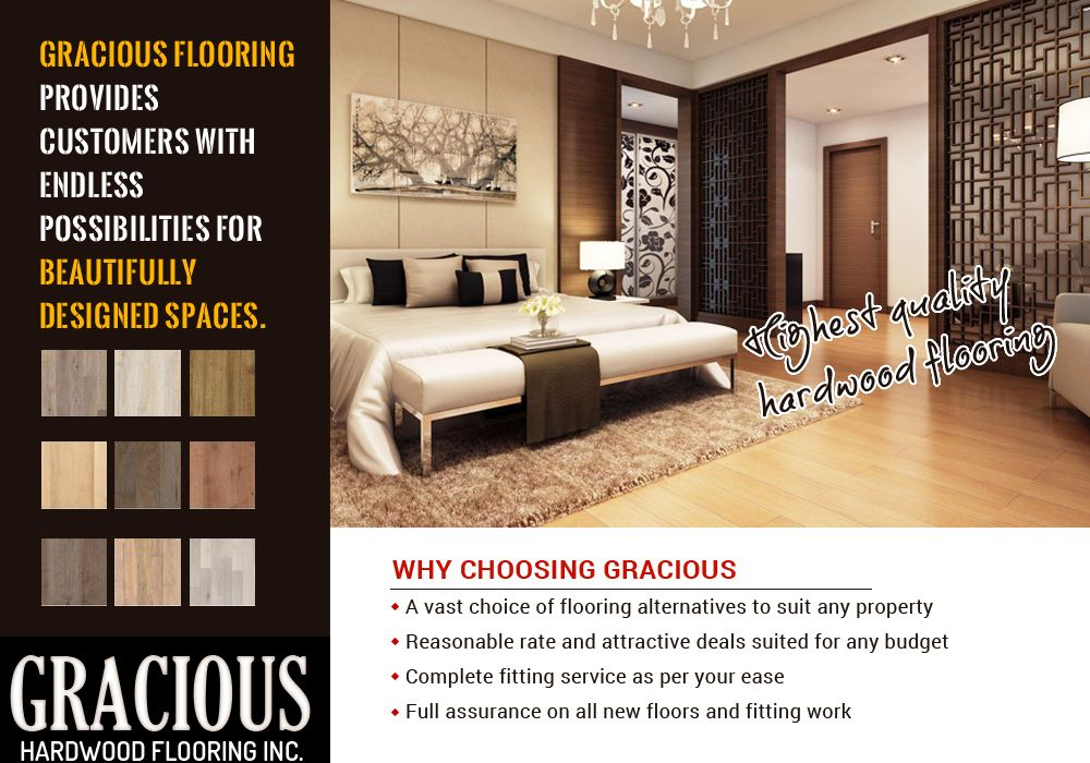 Highest quality hardwood flooring in Brampton Flooring
