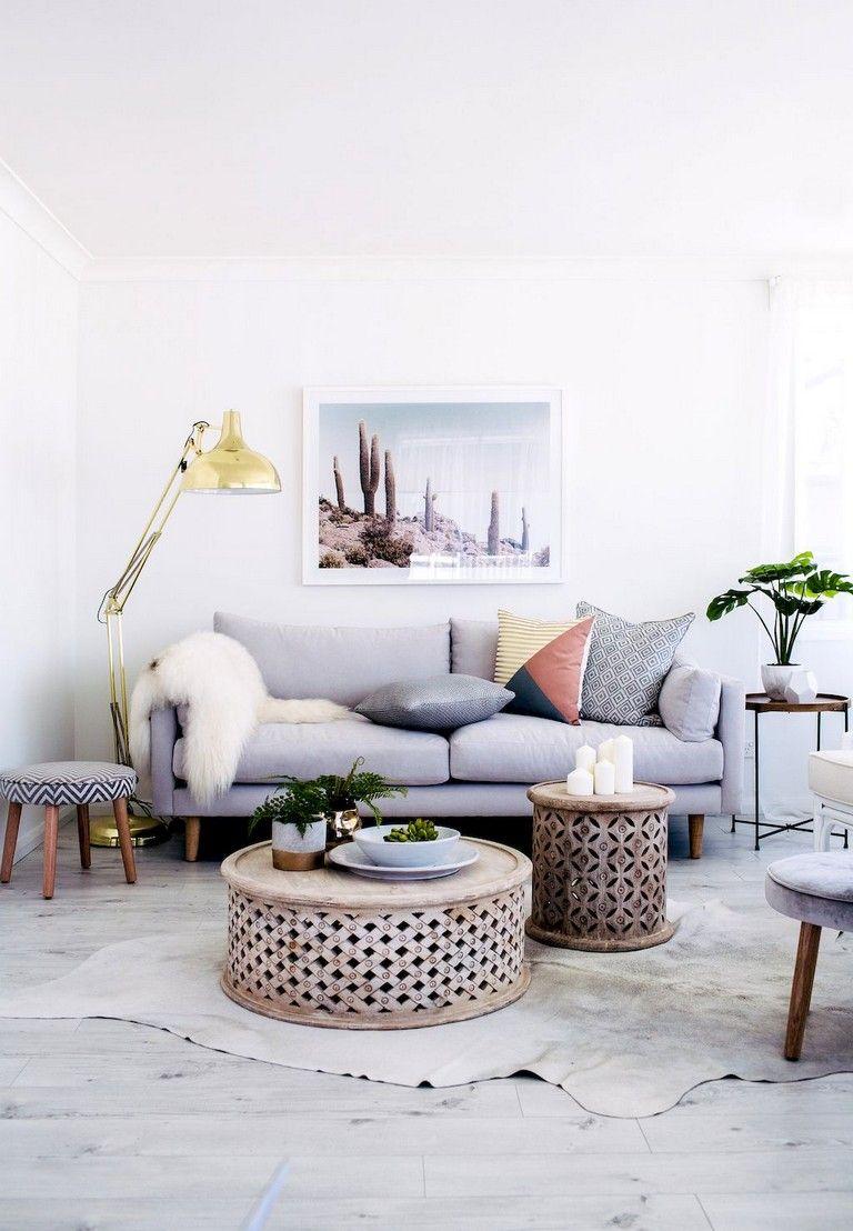 handsome apartment living room decor ideas with boho style also wonderful design rh pinterest
