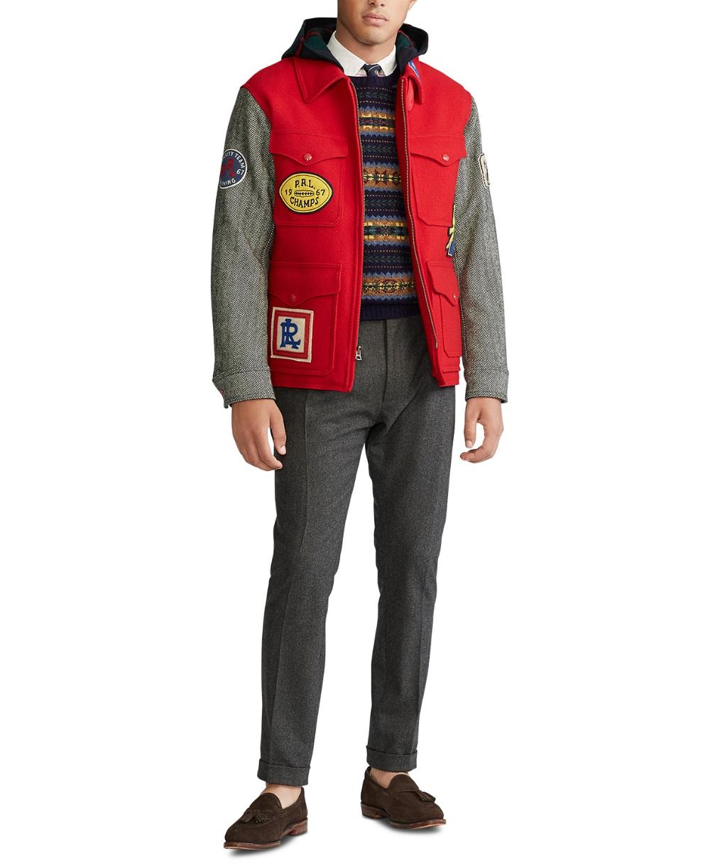 Polo Ralph Lauren Men S Brushed Wool Jacket Reviews Coats Jackets Men Macy S Polo Ralph Lauren Mens Mens Jackets Jackets [ 1219 x 1000 Pixel ]