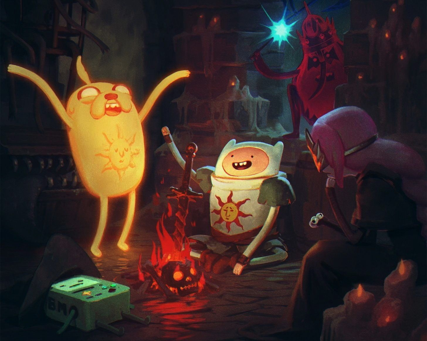 Wallpapers 040 Adventure Time, Game of Thrones, Luke Cage, Star Wars Rebels, Stranger Things, Super