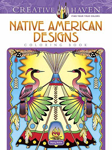 creative haven native american designs coloring book adu - Native American Pictures Color