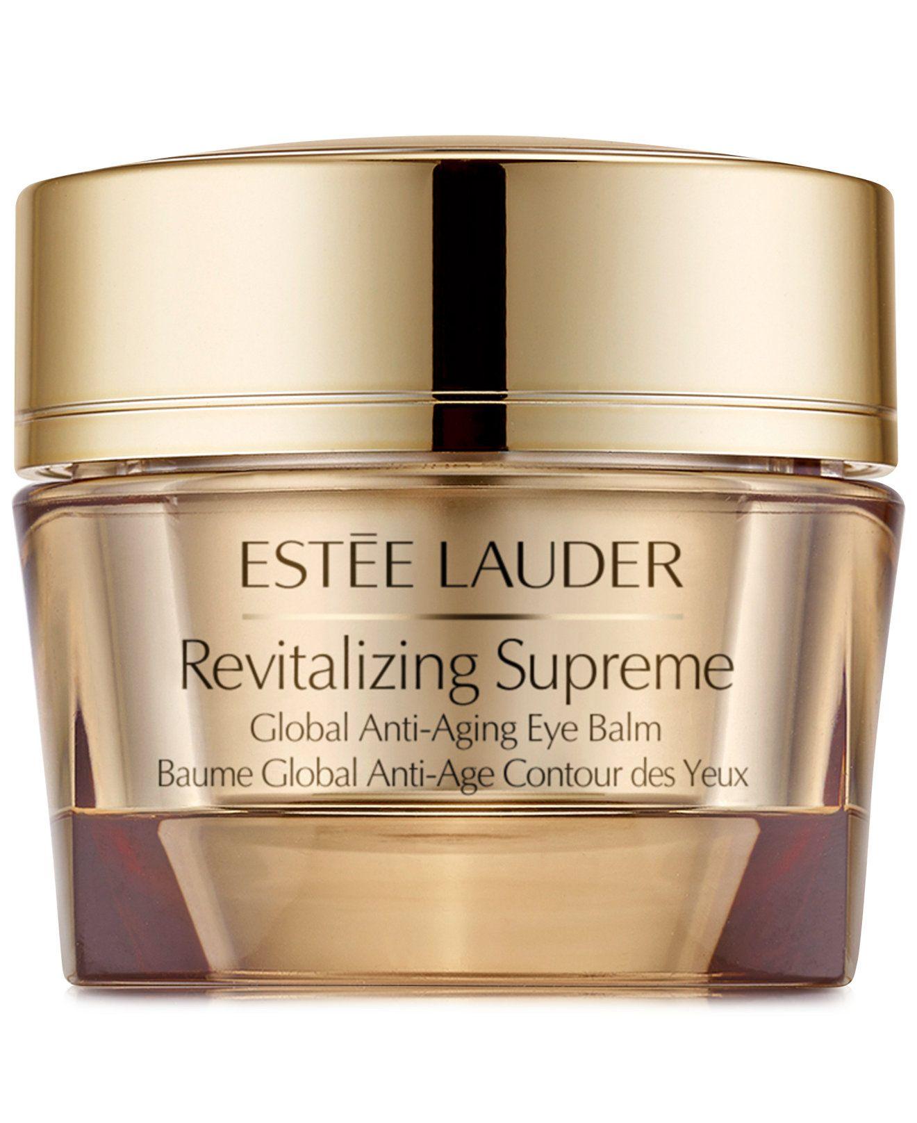 Estee Lauder Revitalising Supreme Global Anti Ageing Eye Balm Inez Aging Serum