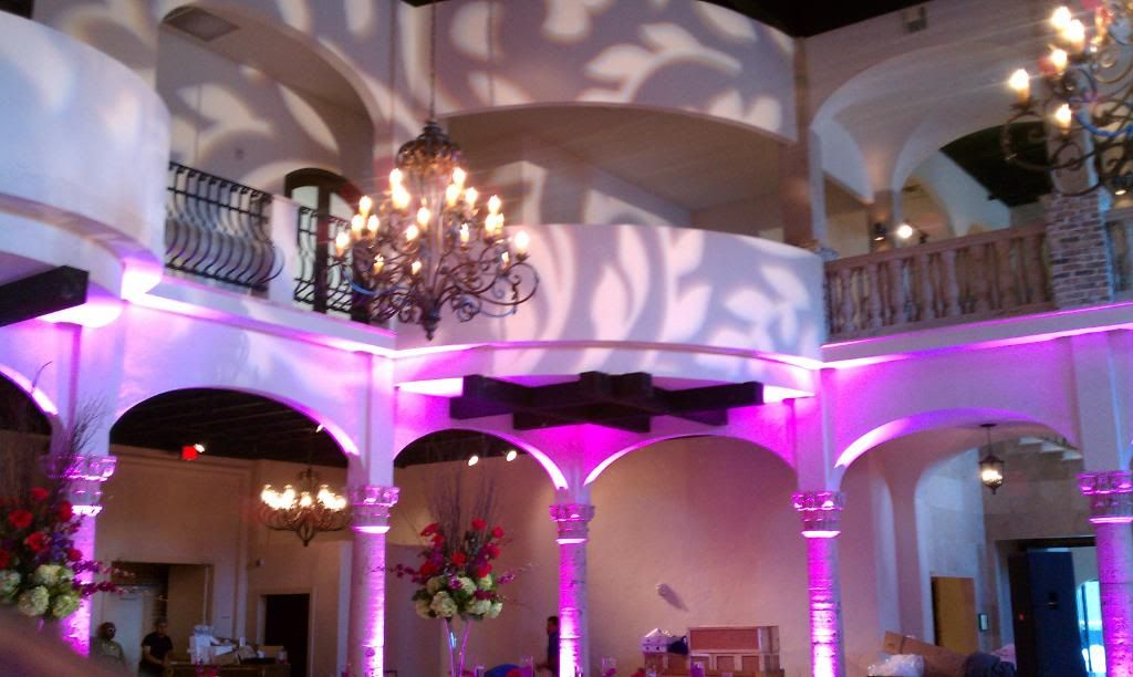 Location The Bell Tower On Houston Texas Carillon Chandelier Ballrooms Event Ion Company Intelligent Lighting Design