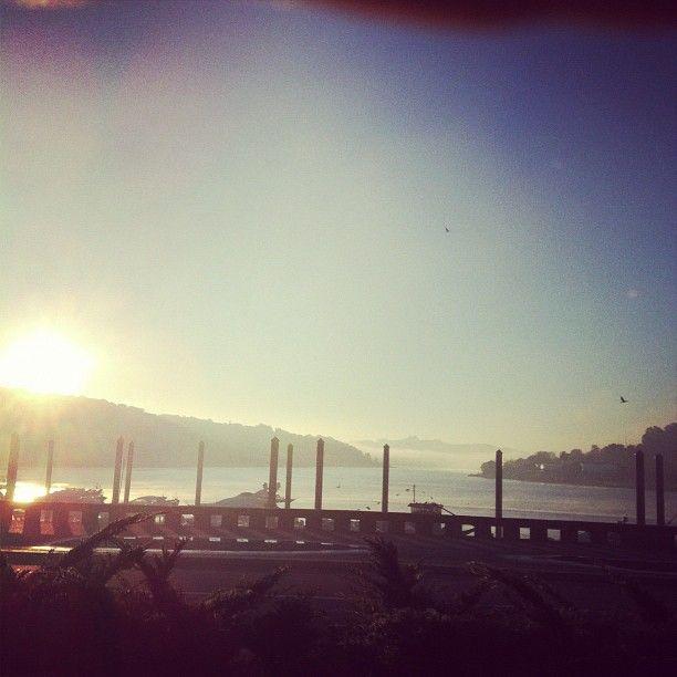 Nascent do sol no #porto - @amiguelpinheiro- #webstagram