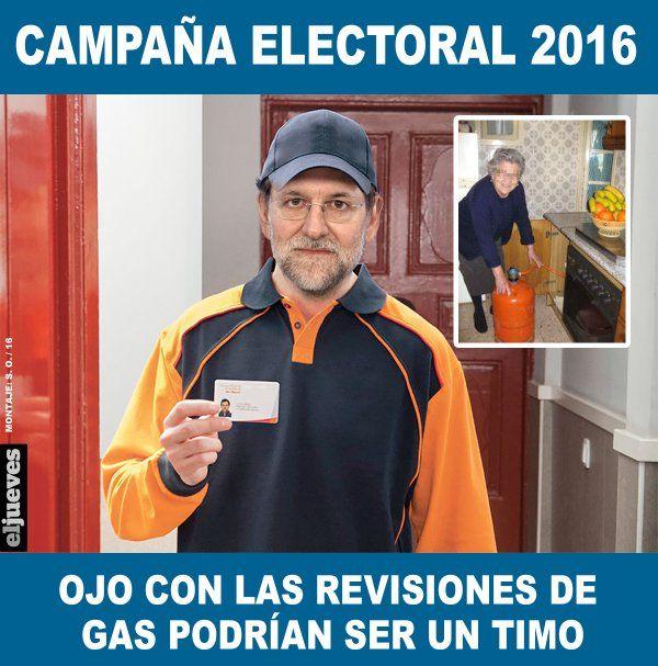 """El Jueves en Twitter: """"Elecciones 2016: Rajoy promete rebajar dos puntos el IRPF pese a las recetas de la UE https://t.co/5kogLvxUB3"""""""