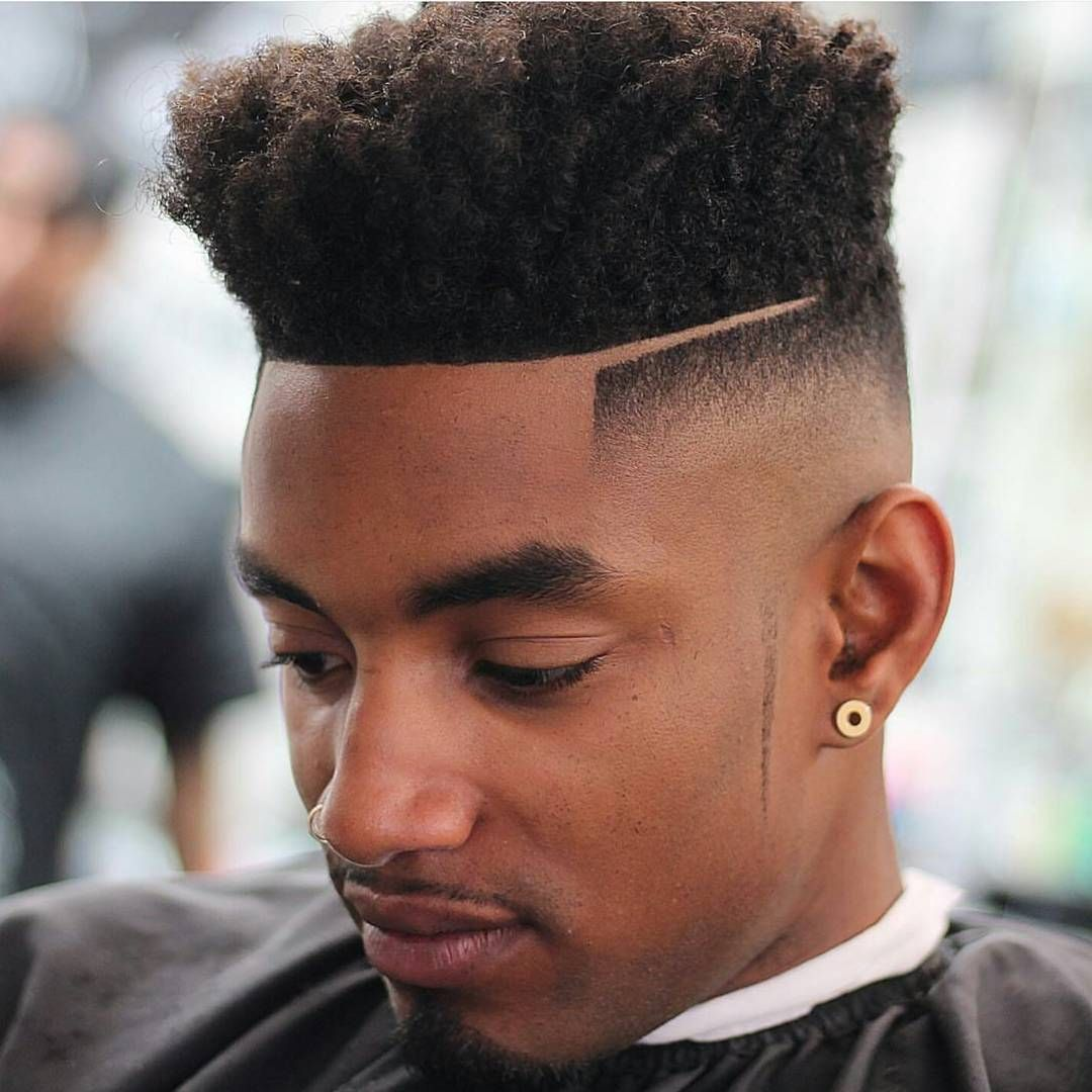 high top fade haircut aka -top