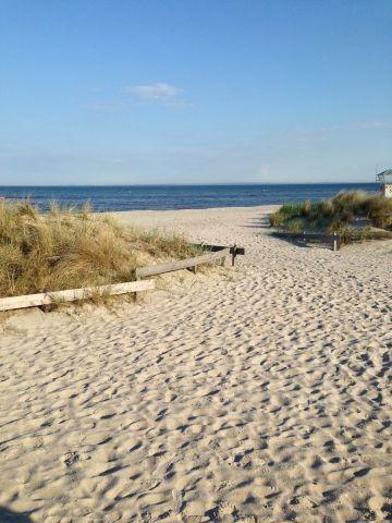 Bungalow 300m zur Ostsee, eingezäunt, offener Kamin, Infrarotsauna