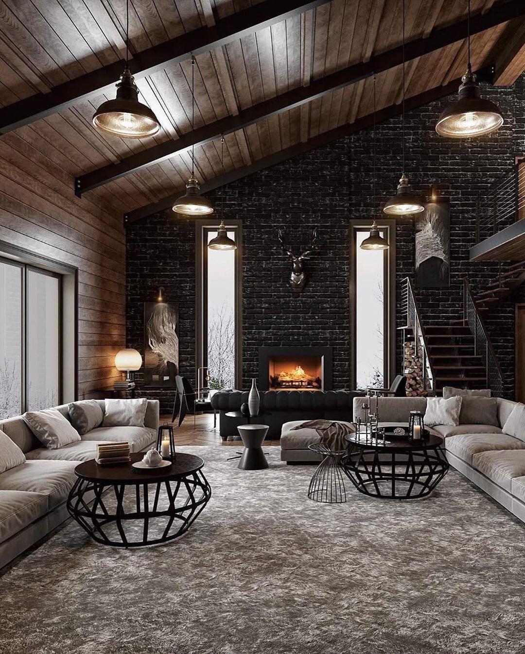 Credit Tips In 2020 Loft Design Loft Interior Design Industrial Interior Design