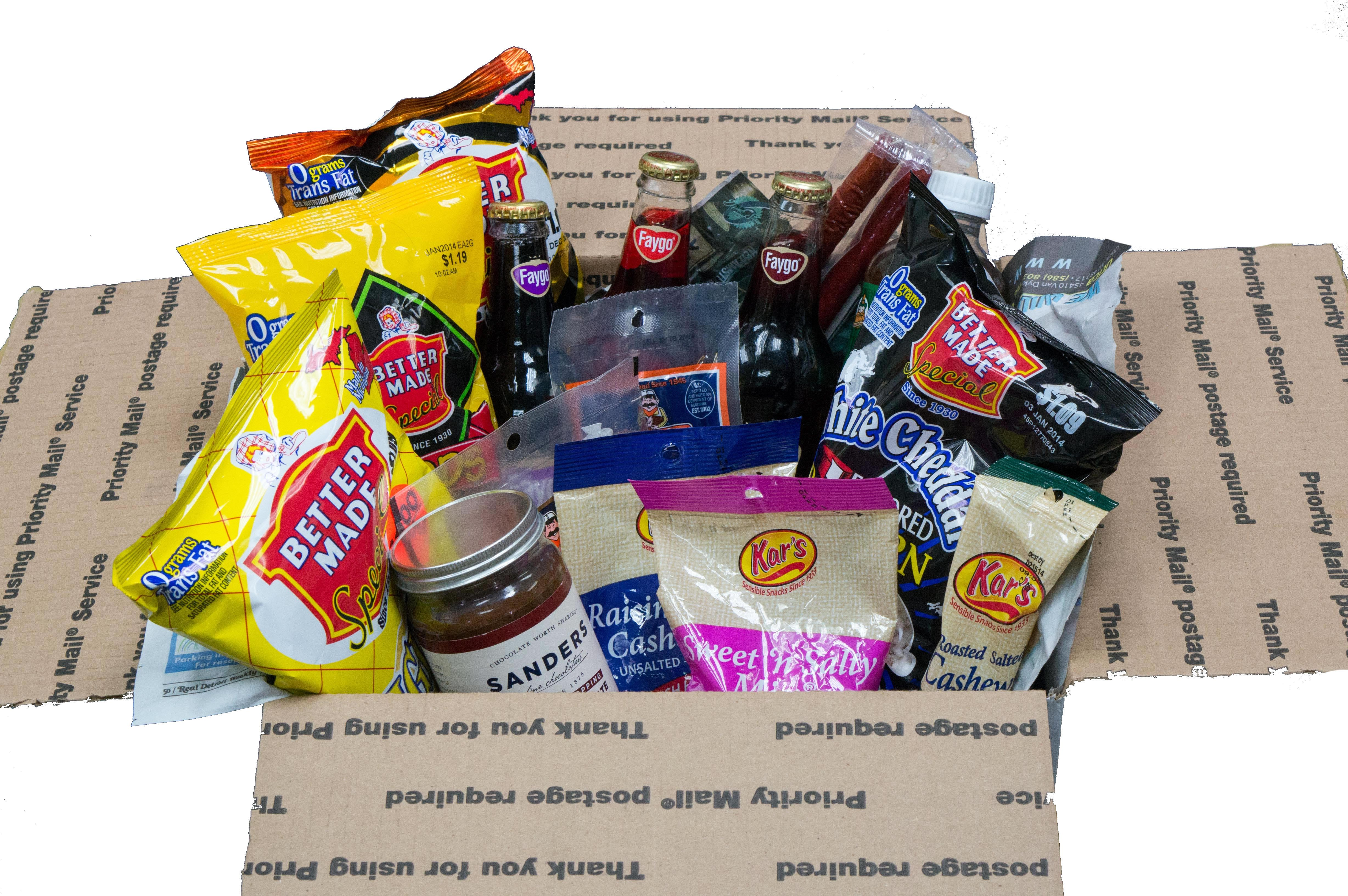 baskets detroit michigan gift box basket gifts better downwithdetroit food down things christmas
