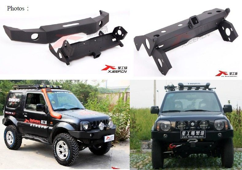 Jimny Front Bumper Sport Style In Bumpers From Automobiles