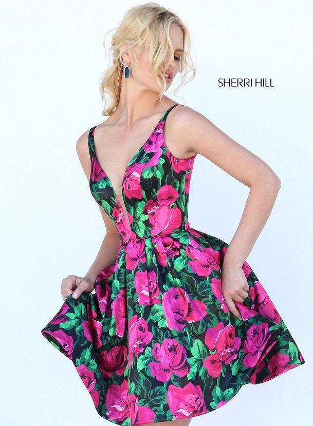 50604 - SHERRI HILL   Party Dresses (skater dresses)   Pinterest