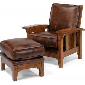 Mission Leather Sofa Set