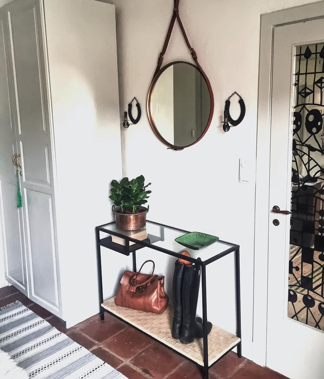 Ikea'Vittsjö' hack by @pickapillow Spaces Pinterest Entryway, Instagram and Ps