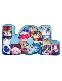 Shop lol kitten pillow and other trendy girls room decor for Room decor justice