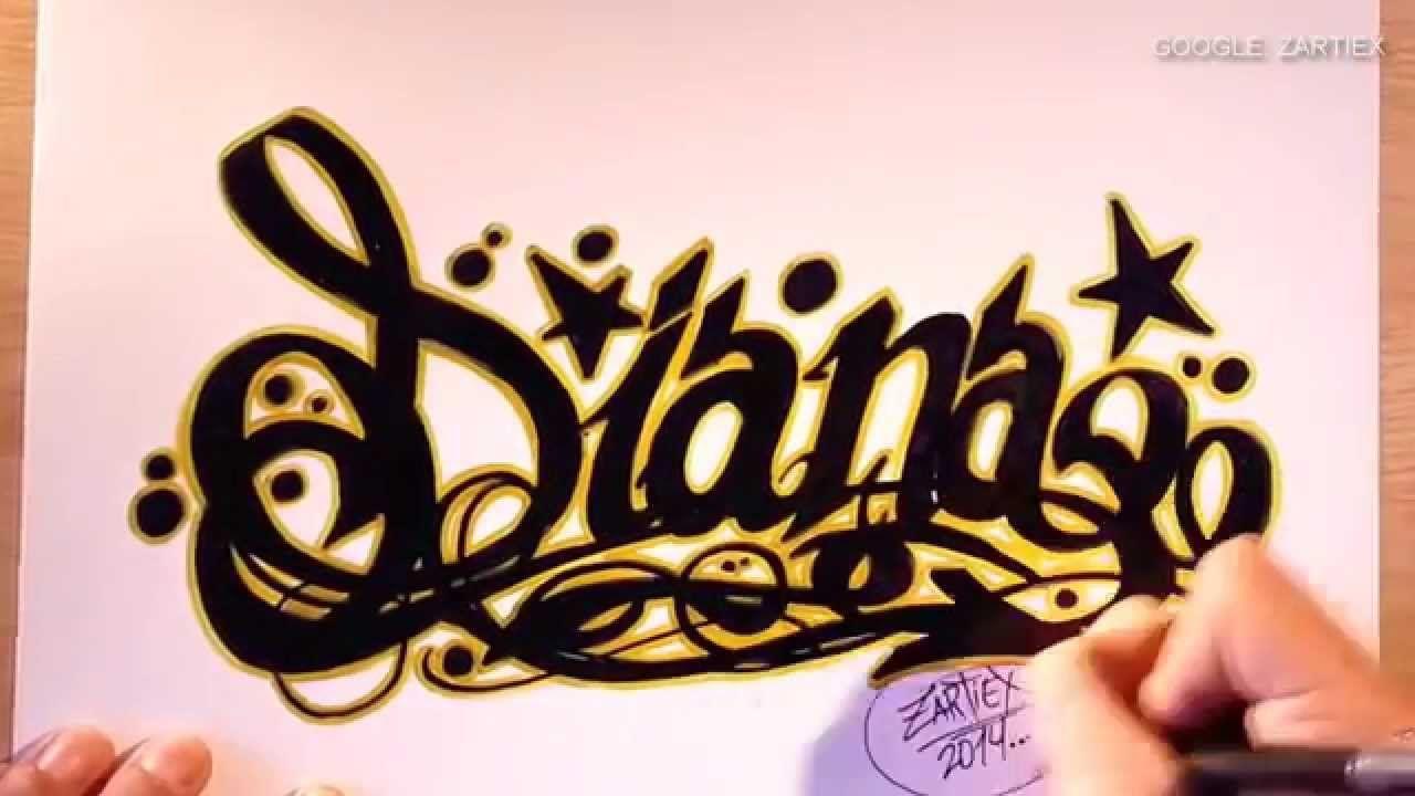 Como hacer letras 3d como dibujar letras de tatuajes y - Letras para dibujar ...