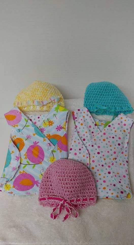 Micropreemie, NICU gown, REVERSIBLE, preemie hospital gown, NICU ...