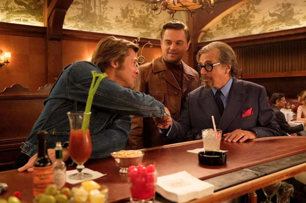 Erase Una Vez En Hollywood Brad Pitt Leonardo Dicaprio Quentin Tarantino