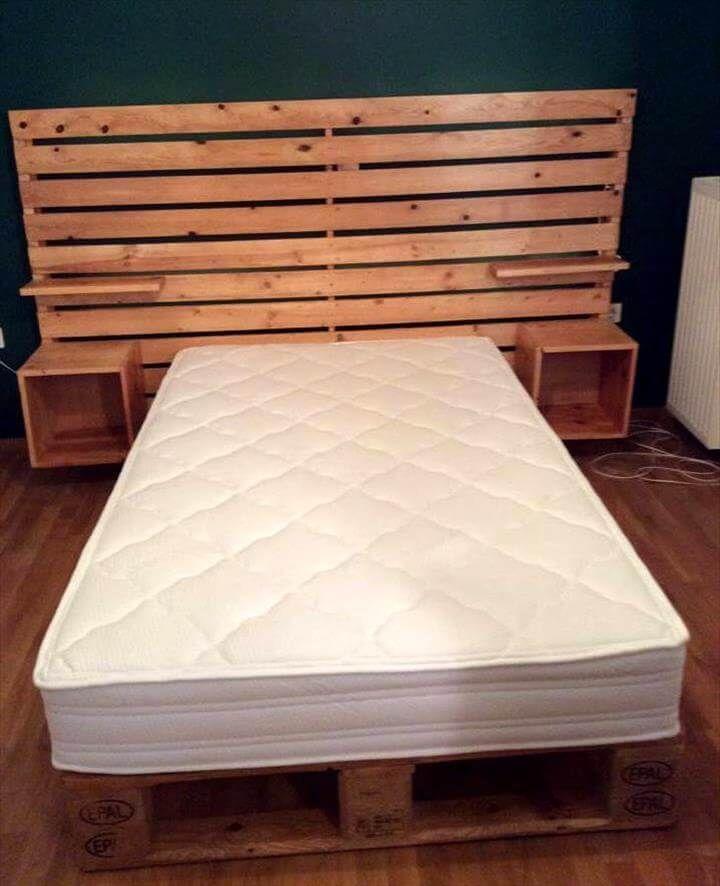 Ágy készítés saját kezűleg - 21 Kreatív DIY ágy, #ágy #design #DIY ...