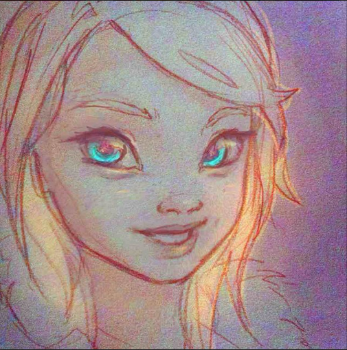 5 minute warm up sketch by destiny blue on instagram! https://instagram.com/destinyblue/