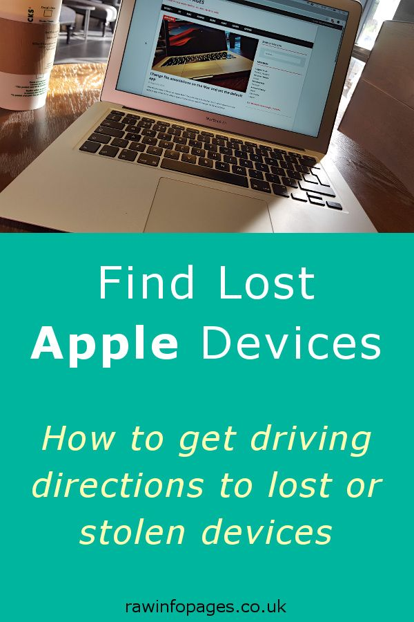 Get Maps directions to lost iPhone, iPad, Mac with Apple