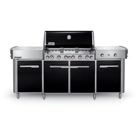 Weber Summit Grill Center S Black 6 Burner Natural Gas Infrared Burner Gas Grill With 2 Side And Rotiss Propane Gas Grill Gas Grill Natural Gas Grill